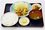 焼肉定食 700円
